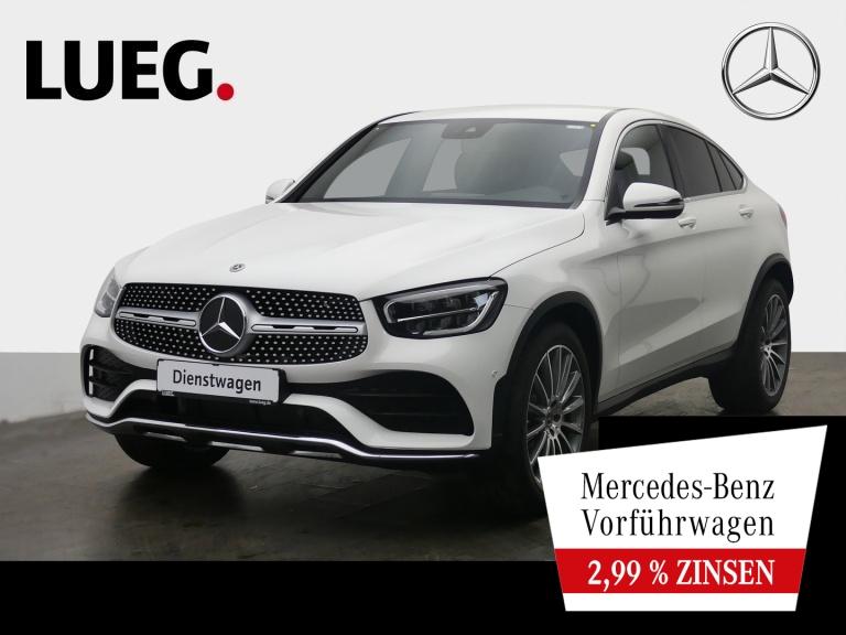 Mercedes-Benz GLC 300 d 4M Coupé AMG+20''+AHK+TOTW-ASS+BURMEST, Jahr 2021, Diesel