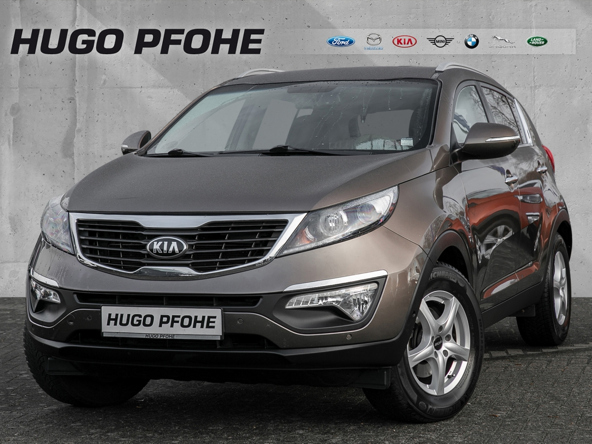 Kia Sportage Dream-Team Edition 1.6 GDI 2WD, Jahr 2013, Benzin
