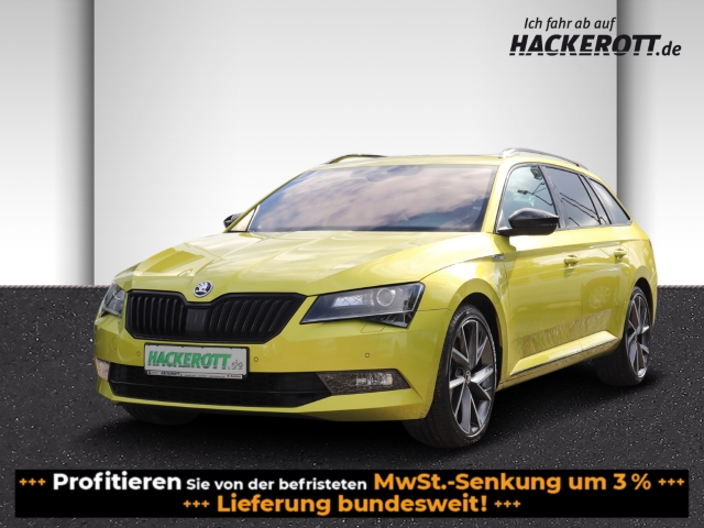 Skoda Superb Combi SportLine 2.0TDI Bi-Xenon Navi PDC e-Sitze ACC Rückfahrk. Panodach, Jahr 2017, Diesel