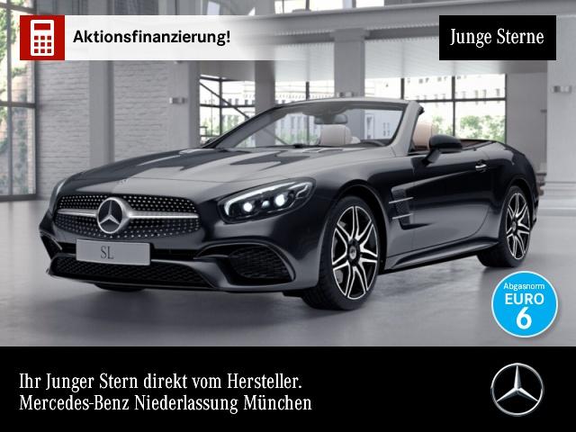 Mercedes-Benz SL 400 AMG Magic Sky Harman Distr+ Sitzkl. Totw., Jahr 2019, Benzin