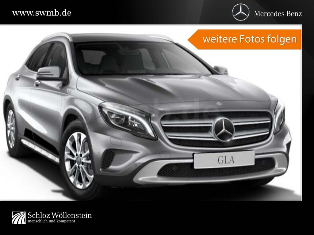 Mercedes-Benz GLA 220 d 4M Leder/DISTRONIC/LED/Sitzmemory/RFKa, Jahr 2017, Diesel