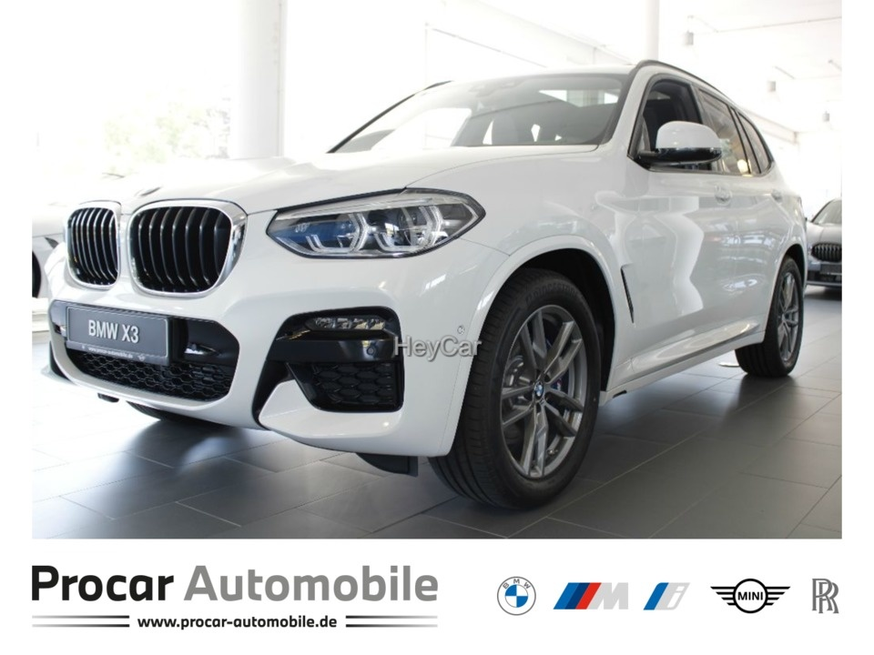 BMW X3 xDrive30d M SPORT AT Navi Glasdach Xenon LED Scheinwerfer Bluetooth, Jahr 2020, Diesel