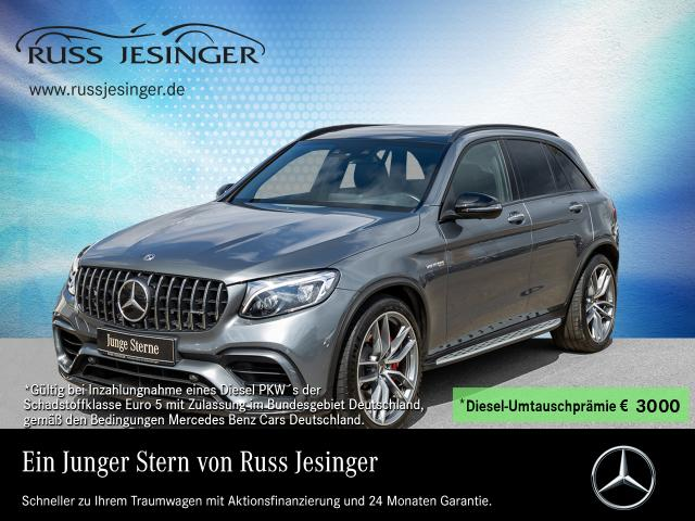 Mercedes-Benz AMG GLC 63 S 4M+ +DISTRONIC+PANO+AHK+DAB+LED+, Jahr 2018, Benzin