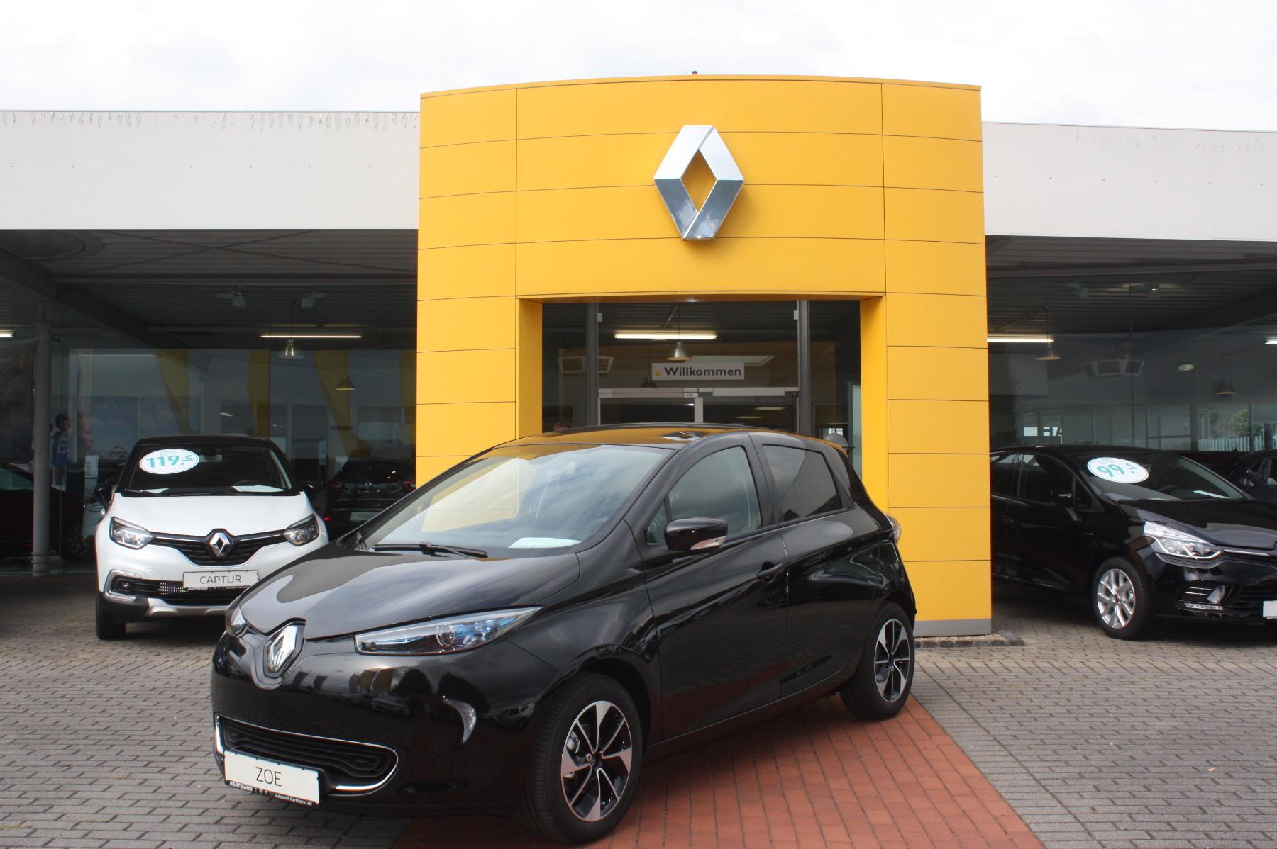 Renault ZOE INTENS Z.E.40 (zzgl Batteriemiete), Jahr 2018, Elektro