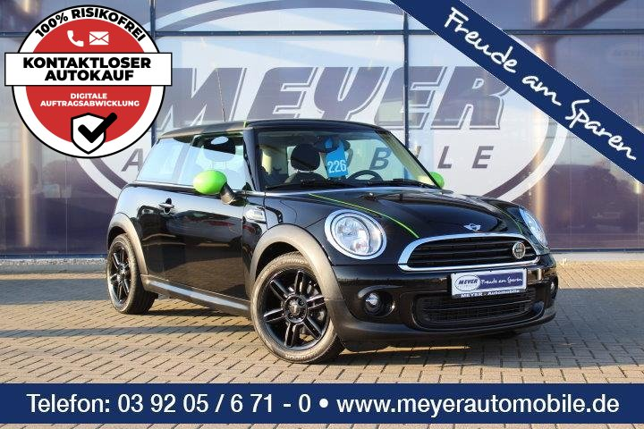 MINI One 1.6 Brick Lane Klima/16-Zoll, Jahr 2013, Benzin