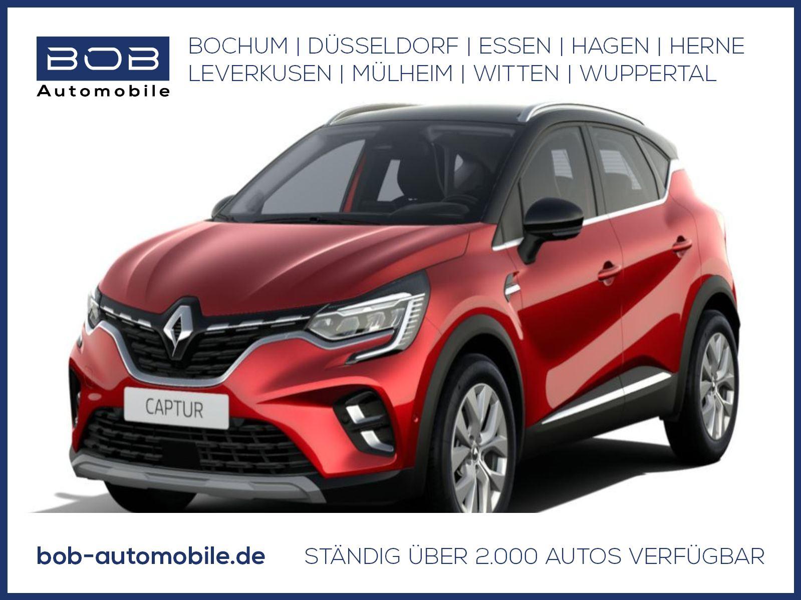 Renault Captur INTENS TCe 140 NAVI Safety-Plus-P., Jahr 2021, Benzin