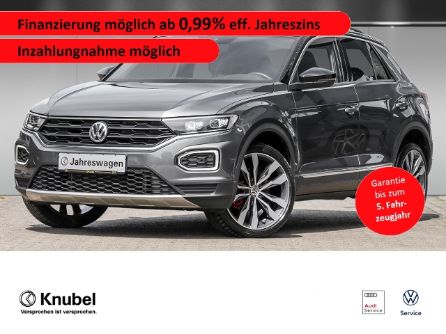 Volkswagen T-Roc Sport 1.5 TSI*AHK*Nav*Pano*19 Zoll*LED*Sta, Jahr 2020, Benzin