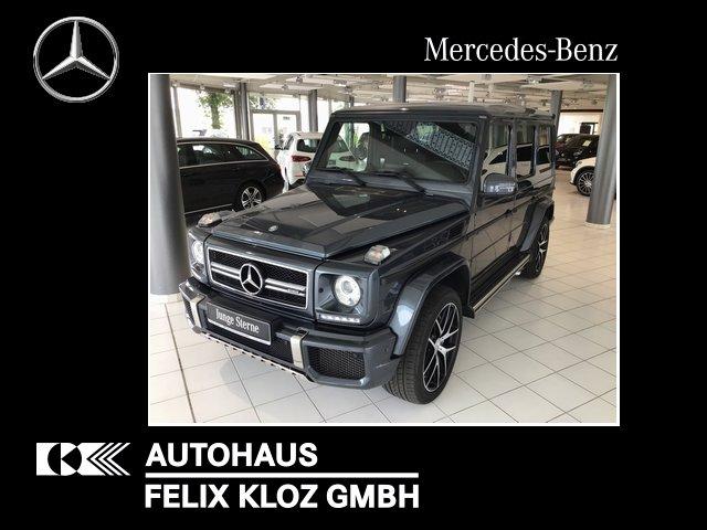 Mercedes-Benz G 63 AMG Designo Kamera Totwinkel H&K Sitzh.hint, Jahr 2016, Benzin