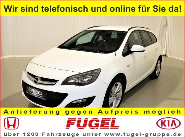 Opel Astra J Sports Tourer 1.4 Turbo Style Klimaaut., Jahr 2015, Benzin