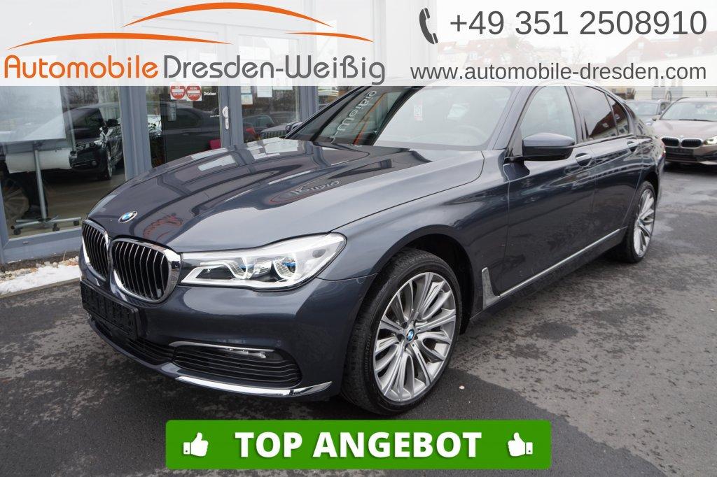 BMW 740 d xDrive*HeadUp*Pano*Nappa*Laser*ACC*DAB*H&K, Jahr 2017, Diesel