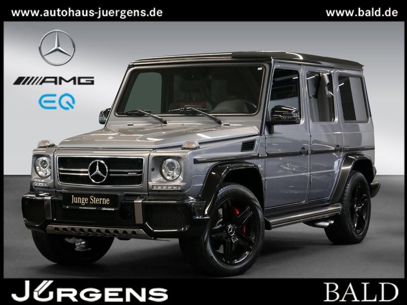 Mercedes-Benz G 63 AMG Comand/Exklusiv/Designo/Leder/Night/AHK, Jahr 2017, Benzin