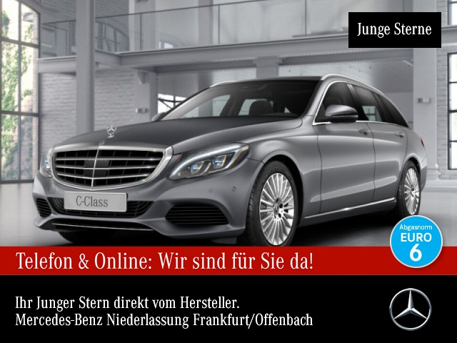 Mercedes-Benz C 300 T Avantgarde Exclusive Pano Distr. COMAND 9G, Jahr 2017, Benzin