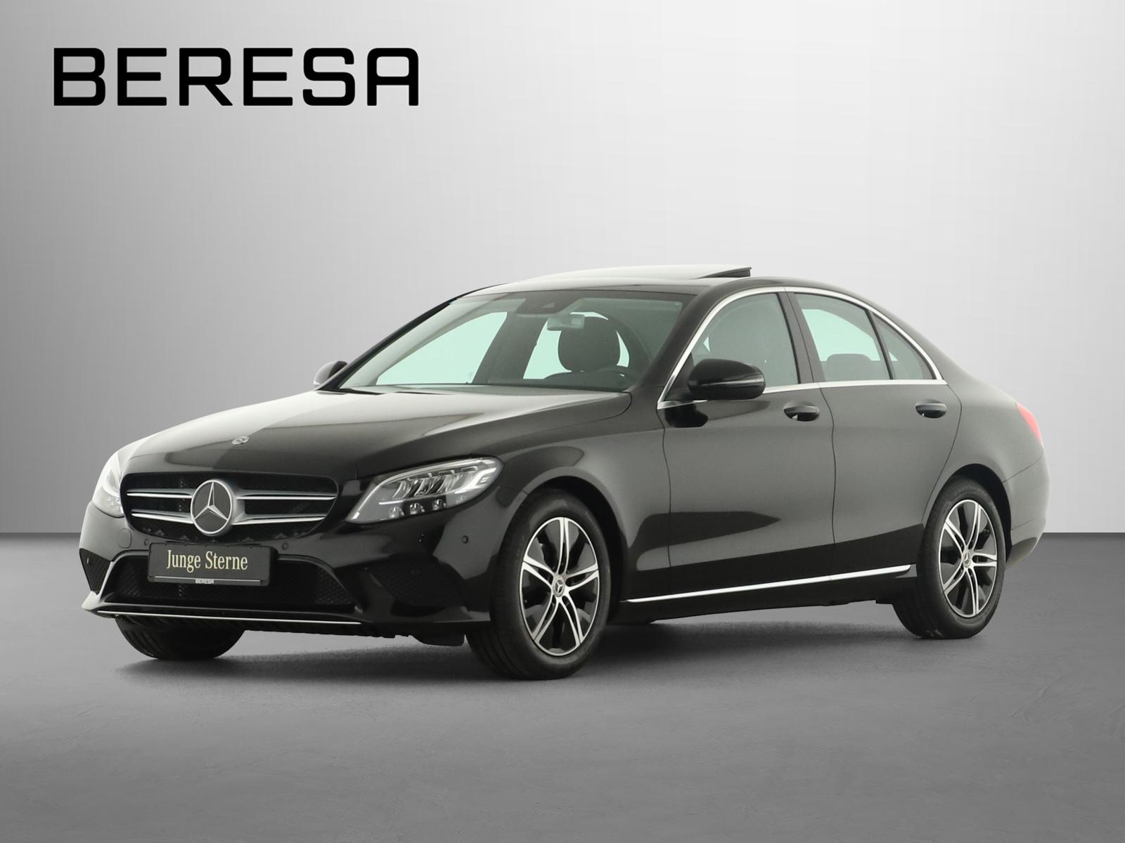 Mercedes-Benz C 180 Avantgarde Spur-P. LED Kamera Navi, Jahr 2020, Benzin