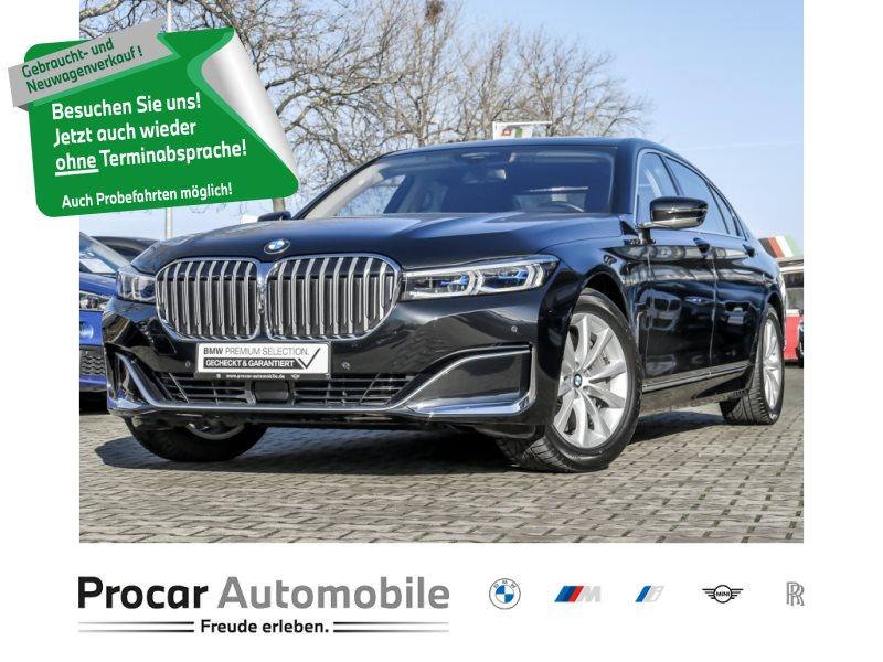 BMW 745Le xDrive KOMFORTSITZE HUD GLASDACH MASSAGE, Jahr 2019, Hybrid
