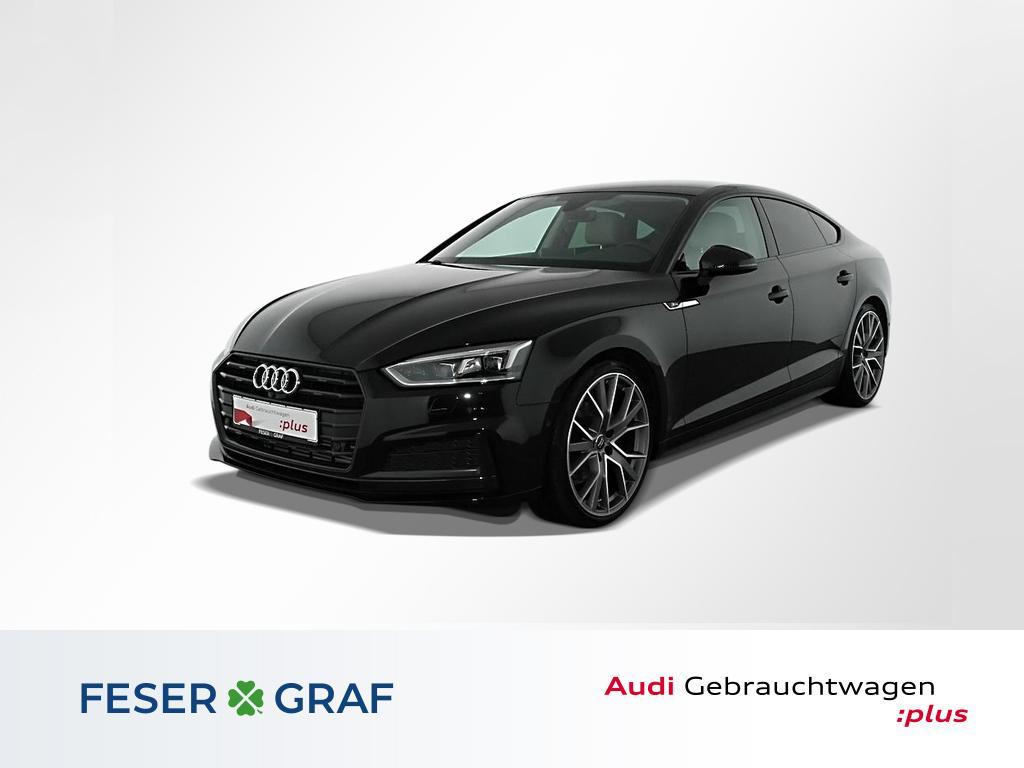 Audi A5 Sportback 40TFSI S Line Ext Leder,LED,Nav,20, Jahr 2019, Benzin