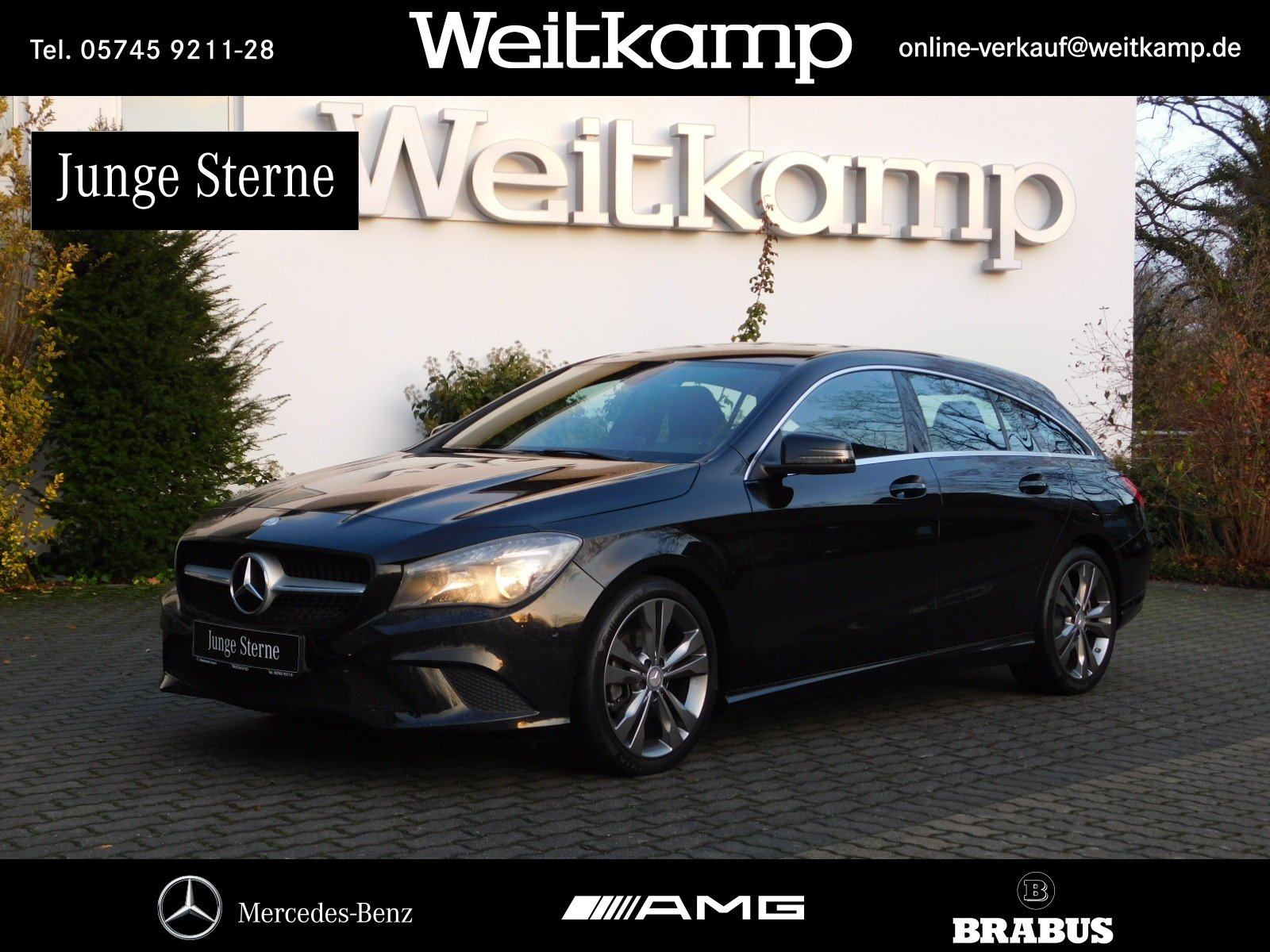 Mercedes-Benz CLA 220 CDI Shooting Brake Urban+Navi+Kamera+PTS, Jahr 2015, diesel