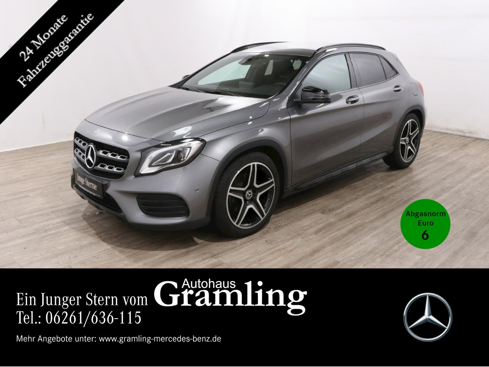 Mercedes-Benz GLA 250 AMG *NIGHT*Kamera*LED*Navi*AHK*Memory*, Jahr 2019, Benzin