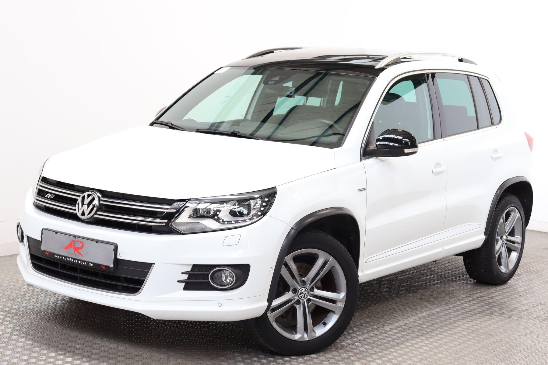 Volkswagen Tiguan 1.4 TSI CITY SCAPE R LINE SPORT VOLLLEDER, Jahr 2015, Benzin
