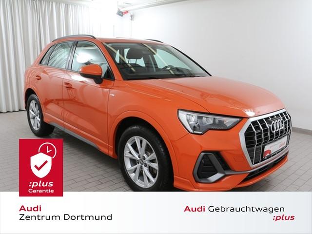 Audi Q3 S line 40TFSI qu. MMI/AHK/SHZ/APS, Jahr 2019, Benzin
