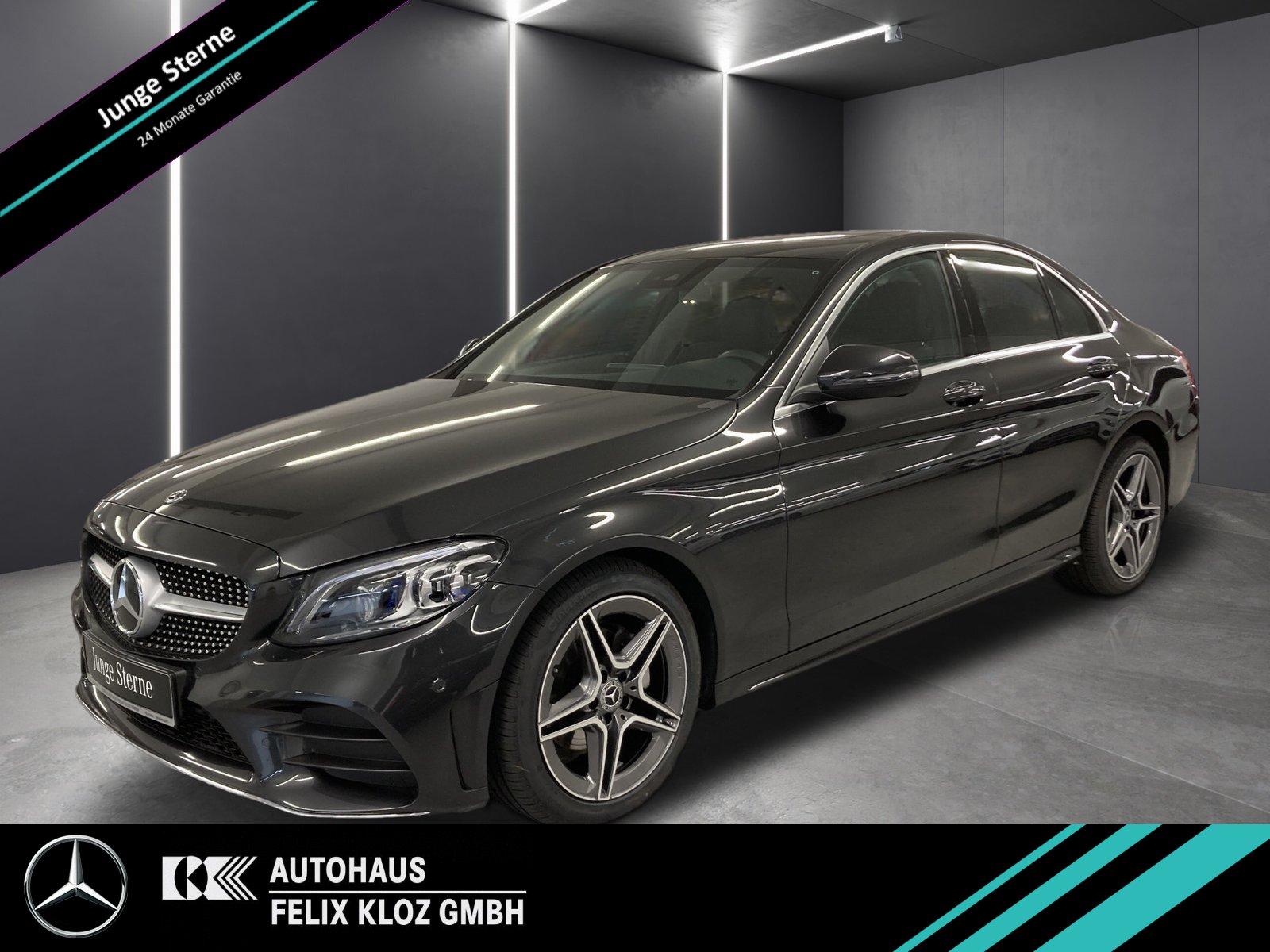 Mercedes-Benz C 200 AMG Line*High-End Infotainment*Assistenz-P, Jahr 2020, Benzin