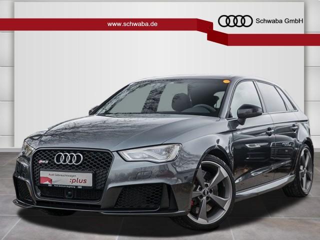Audi RS 3 Sportback *SPORTABGAS*280kmH*PANO*ACC*ROTOR, Jahr 2016, petrol