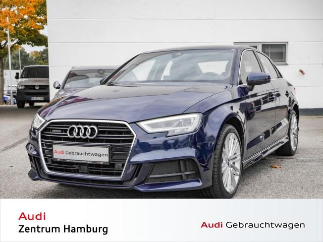 Audi A3 Limousine 2,0 TDI design quattro S tronic S LINE NAVI LED, Jahr 2017, Diesel