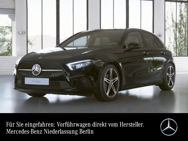 Mercedes-Benz A 180 PROGRESSIVE+Night+LED+7G, Jahr 2021, Benzin
