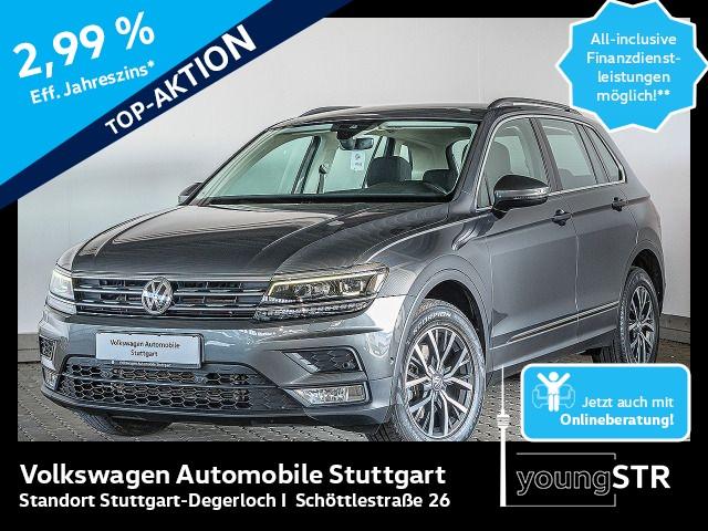 Volkswagen Tiguan 2.0 TDI DSG Comfortline Navi ACC AHK LED, Jahr 2017, Diesel