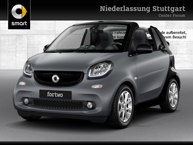 smart fortwo cabrio 66kW passion DCT cool&Media SHZ LED, Jahr 2016, Benzin