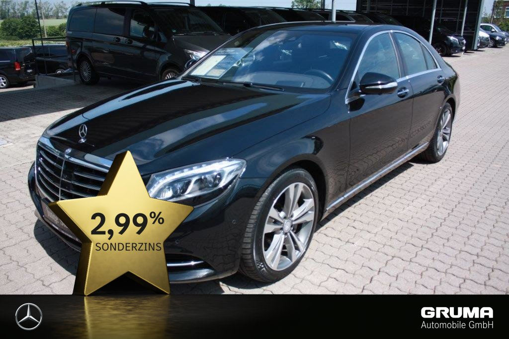 Mercedes-Benz S 350 d 4M STANDHZ*PANO*MASSAGE*SITZKLIMA*HEADUP, Jahr 2015, Diesel