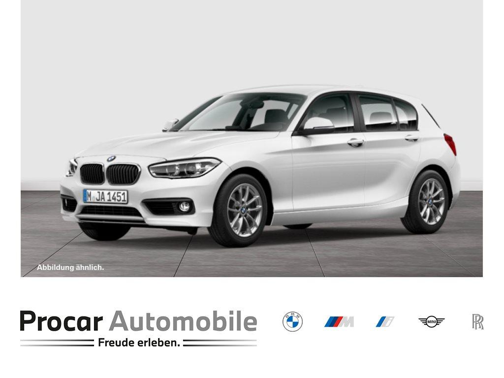 BMW 116i 5-TÜRER+SITZHZG+HIFI+PDC+TEMPOMAT, Jahr 2015, Benzin