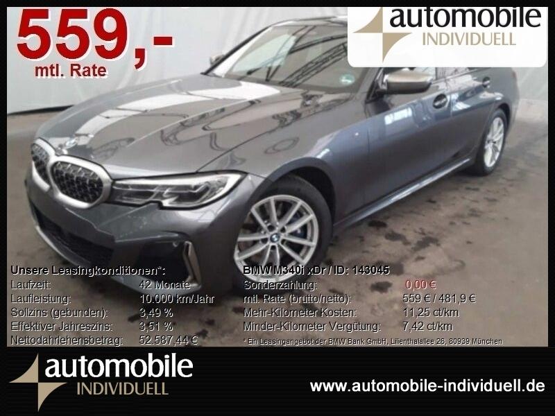 BMW M340i xDr LED Leder Live CockPit HuD ACC, Jahr 2019, Benzin