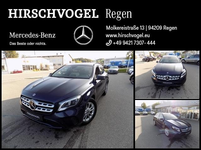 Mercedes-Benz GLA 250 4M Style+AHK+DISTRON+Com+LED+Kam+PDC+SHZ, Jahr 2017, Benzin