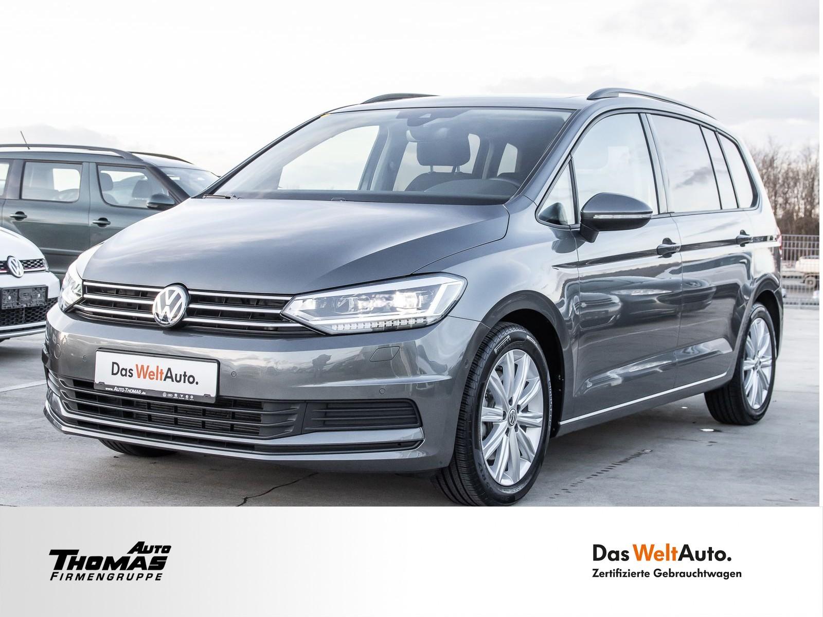 "Volkswagen Touran ""Comfortline"" 1.5 TSI DSG PANO+STDHZG+7S., Jahr 2019, petrol"
