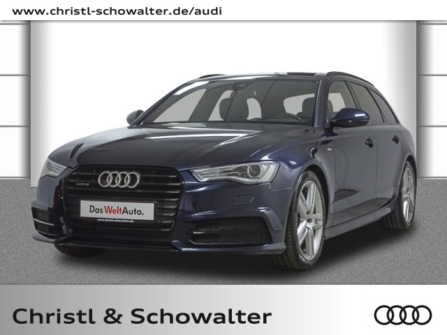 Audi A6 Avant S line 3.0 TDI quattro S tronic Stdhzg., Jahr 2017, Diesel