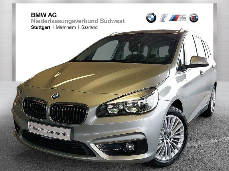 BMW 218 Gran Tourer d Navi abbl. Spiegel Tempomat, Jahr 2017, Diesel