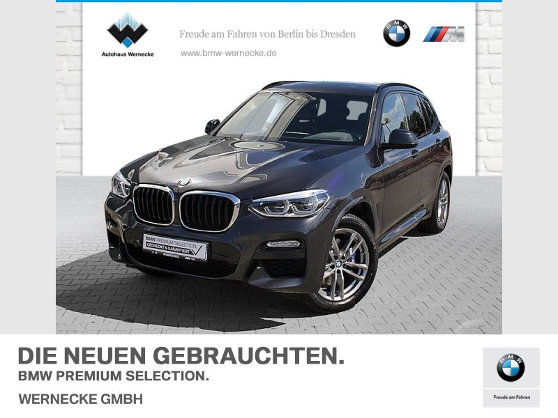 bmw x3 xdrive30i m sport head-up hifi led wlan ahk, jahr 2019, benzin