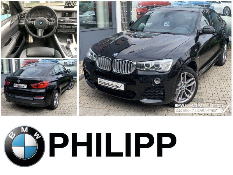 BMW X4 xDrive30d M-Sportpaket Navi Xenon Shz USB, Jahr 2017, Diesel