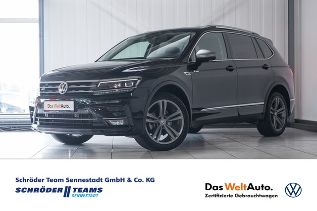 "Volkswagen Tiguan Allspace 2.0 TDI DSG 4Motion Highline""R-Line"" 7-Sitzer,LED,Navi,Telefon, Jahr 2018, diesel"