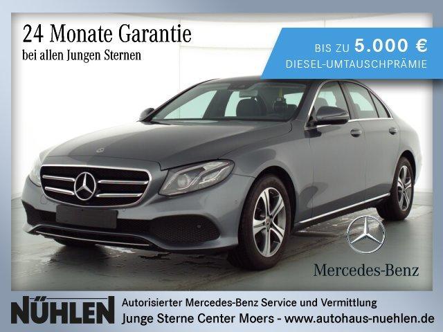 Mercedes-Benz E 200 d Limousine AVANTGARDE+LED+Autom+Navi+PTS, Jahr 2019, Diesel