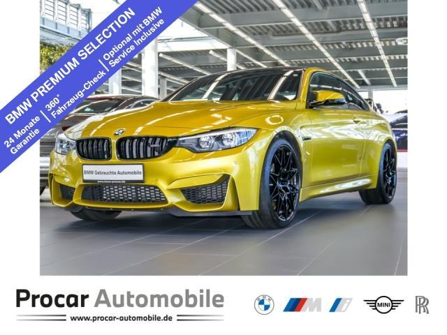 BMW M4 Coupe Competition DKG Head-Up LED H/K Keramik, Jahr 2017, Benzin
