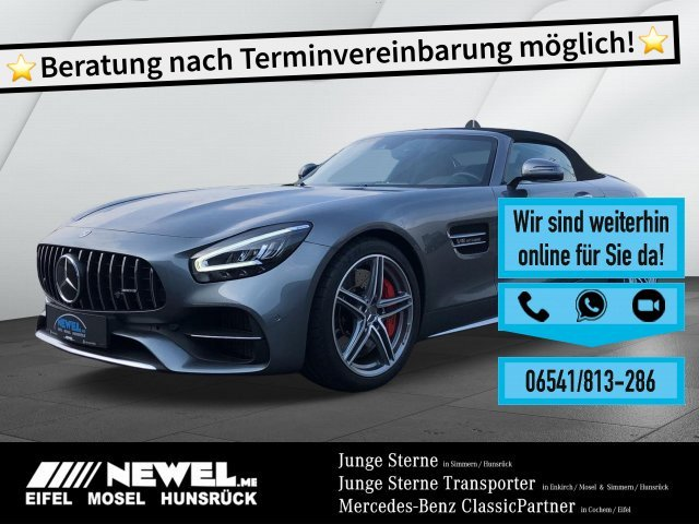 Mercedes-Benz AMG GT C Roadster *PERFORMANCE*DISTRO*SITZKLIMA*, Jahr 2019, Benzin