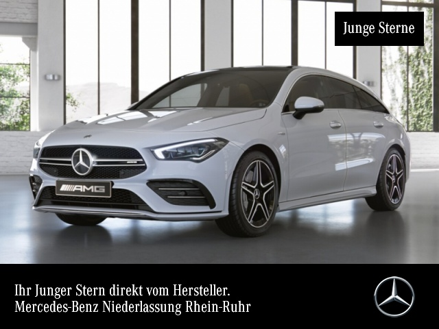 Mercedes-Benz CLA 35 AMG 4M SB NaviPremium Pano Distronic, Jahr 2020, Benzin