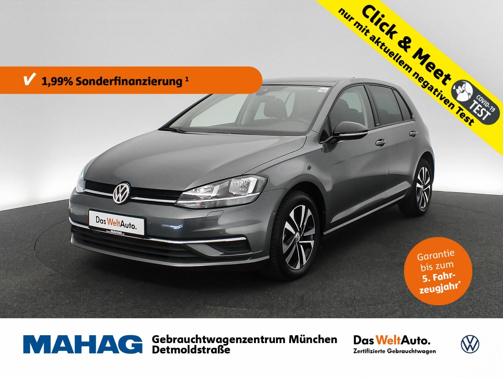 Volkswagen Golf VII 1.0 TSI IQ.DRIVE Navi Panorama AppConnect 16Zoll 6-Gang, Jahr 2019, Benzin