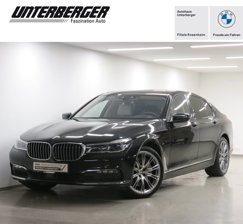 BMW 750d xDrive Limousine ehem. UPE 146.940, Jahr 2017, Diesel