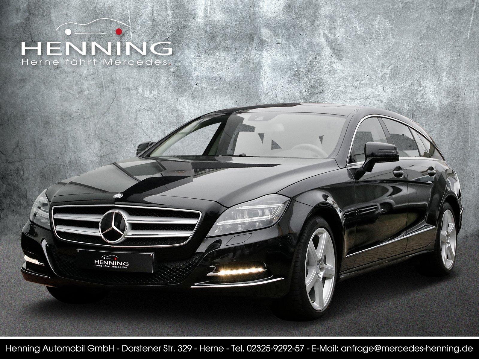 Mercedes-Benz CLS 250 SB COMAND Memory Distronic Burmester AHK, Jahr 2012, diesel