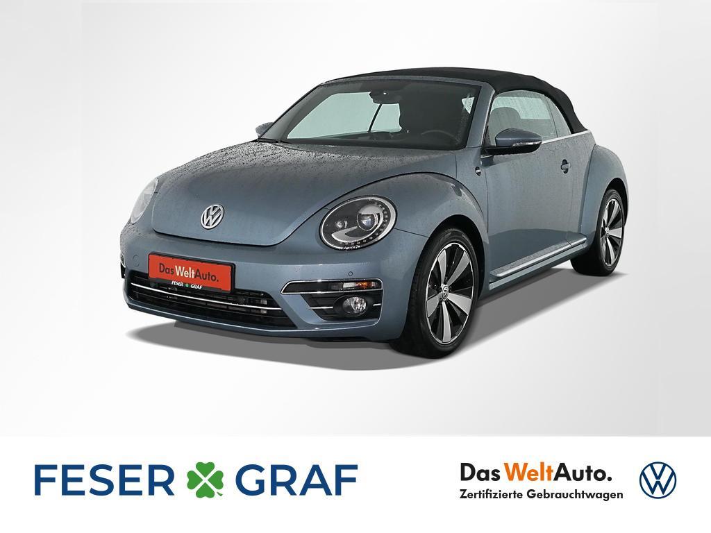 Volkswagen New Beetle Cabrio SOUND 1.2 TSI Navi Xenon LM18, Jahr 2018, Benzin