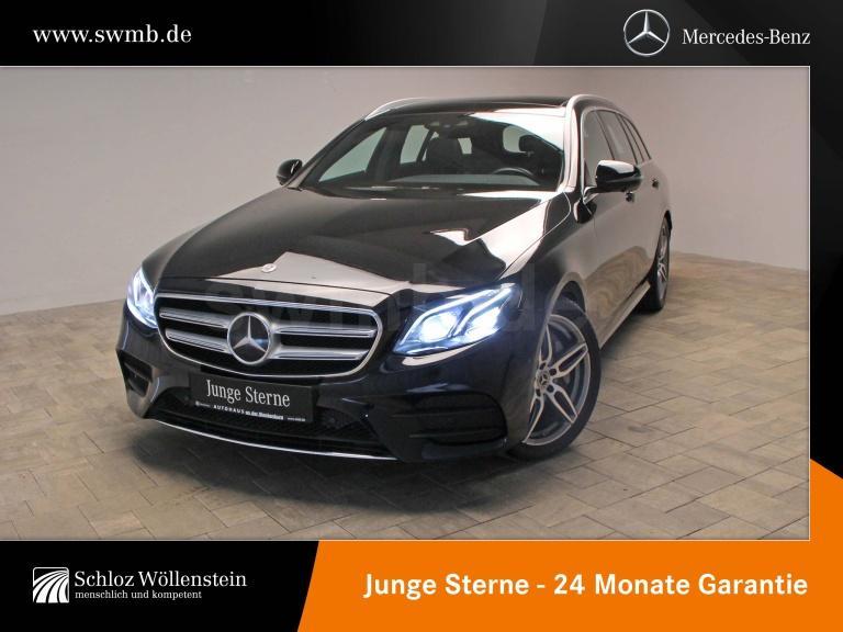 Mercedes-Benz E 450 4M T AMG/DISTRONIC/360°/MULTIBEAM/DAB/19Z, Jahr 2019, Benzin