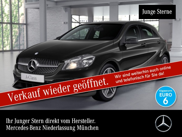 Mercedes-Benz A 220 4M AMG Navi PTS 7G-DCT Sitzh Sitzkomfort, Jahr 2016, Benzin