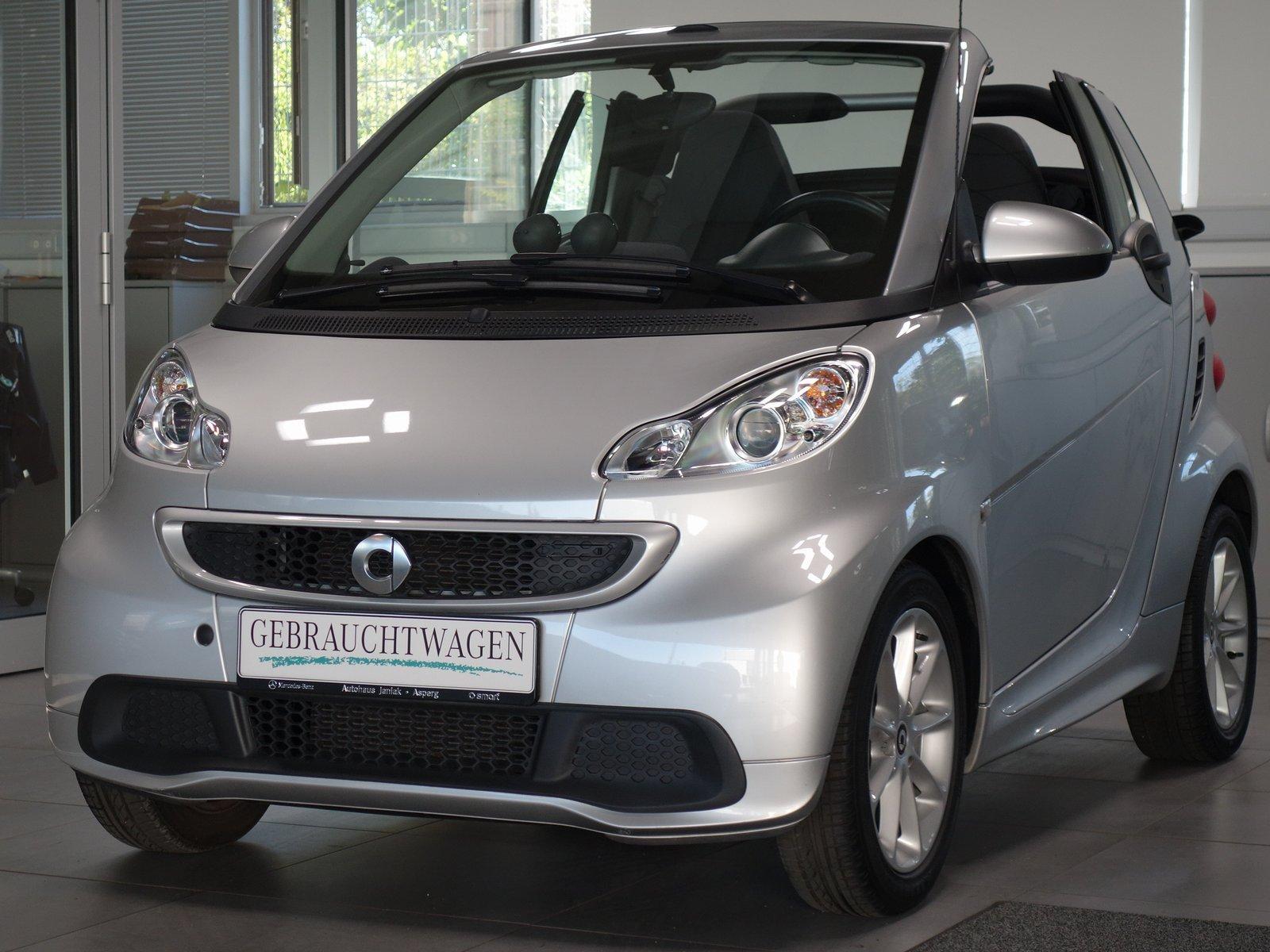 smart fortwo cabrio mhd Passion|Servo|Klima|Sitzh., Jahr 2014, Benzin